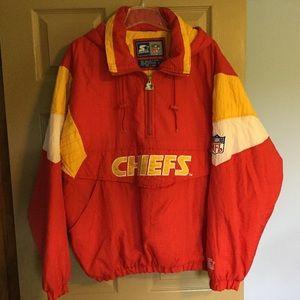 Chiefs NFL Starter Hooded Jacket size L